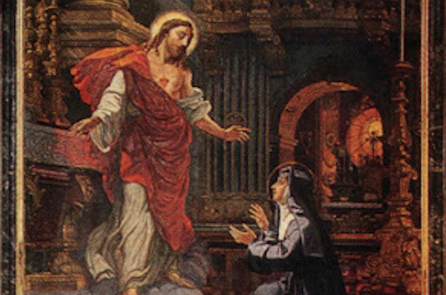 Devetnica Srcu Isusovu s Margaretom Marijom Alacoque... | Božje milosrđe |  bozjemilosrdje.net